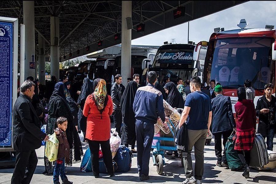 تصویر جابجایی بیش از 196 هزار مسافر نوروزی در گیلان