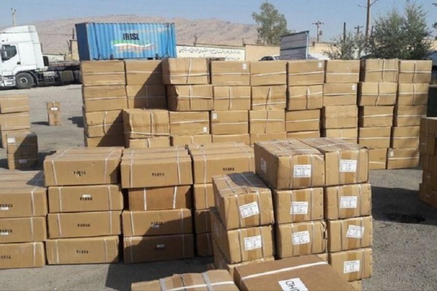 تصویر کشف 9 میلیارد لوازم خانگی قاچاق احتکار شده در یزد