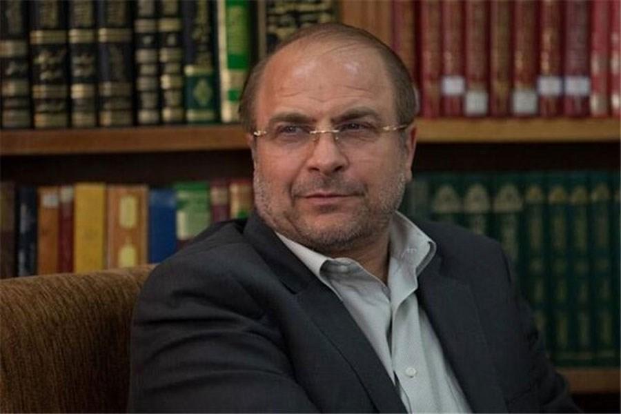 تصویر پیام تبریک قالیباف به روسای مجالس کشورهای اسلامی
