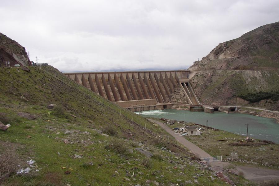 ورودی آب به سد سفید رود 92 درصد کاهش یافته است