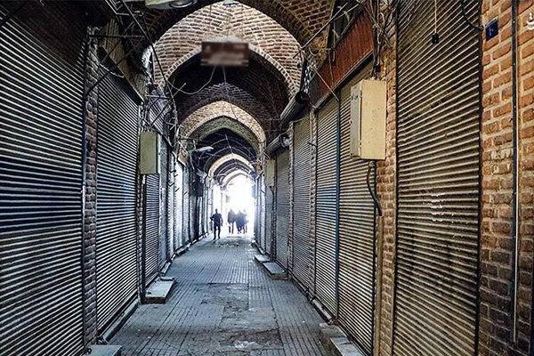 تصویر بازار بزرگ تهران دو هفته تعطیل شد
