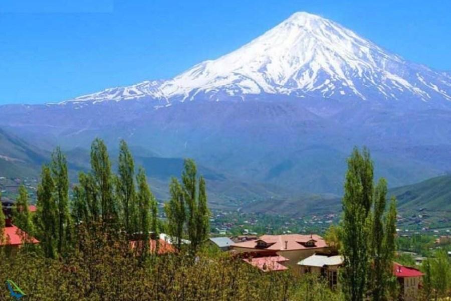 نخستین نقشه گردشگری دماوند چاپ شد/ تهیه نقشه روستاهای بلندترین کوه ایران تا پایان ۱۴۰۰