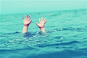 تصویر  مرگ یک مرد در رودخانه کرج