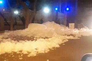 تصویر  ماجرای کف سفید در خیابان آخونی تبریز چه بود؟
