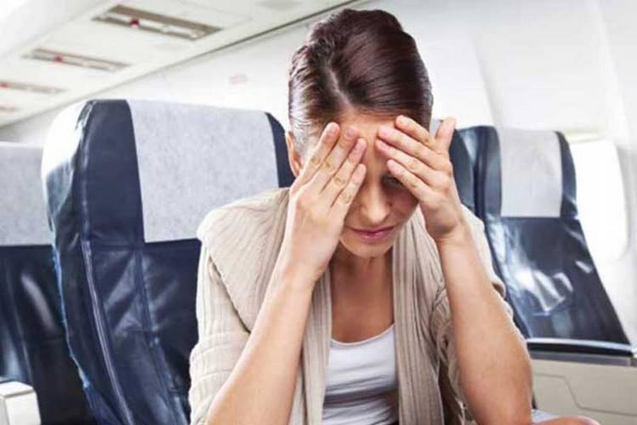 تصویر راز احساس سنگینی سر در هواپیما چیست