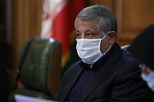 تصویر  نزدیک شدن تعداد فوتی های تهران به 100 نفر