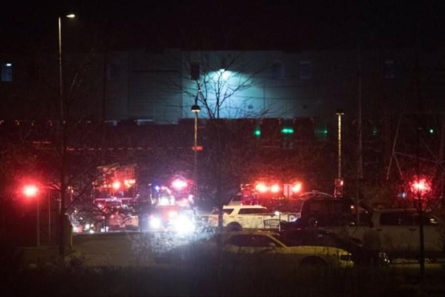 شرکت پست آمریکا در ایالت ایندیانا شاهد تیراندازی
