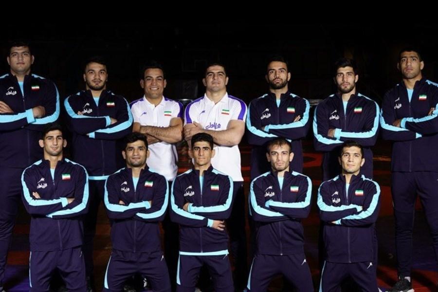 قهرمانی تیمملی کشتی فرنگی در آسیا با حمایت همراه اول