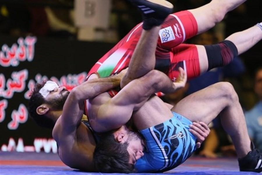 کشتی قهرمانی آسیا؛  صعود ۴ آزادکار ایران به نیمهنهایی