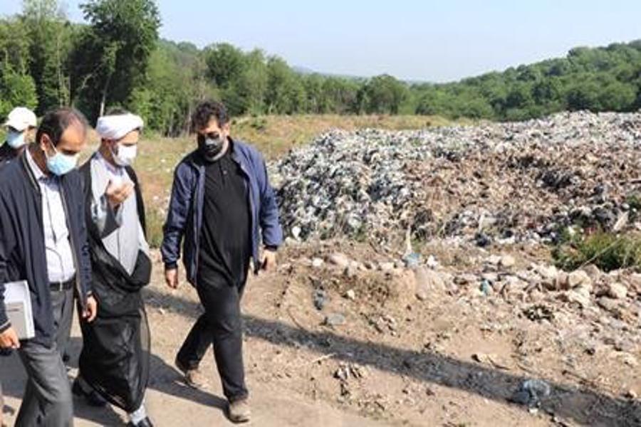 نظارت دستگاه قضایی بر روند اجرای مهار زباله در لندفل سراوان