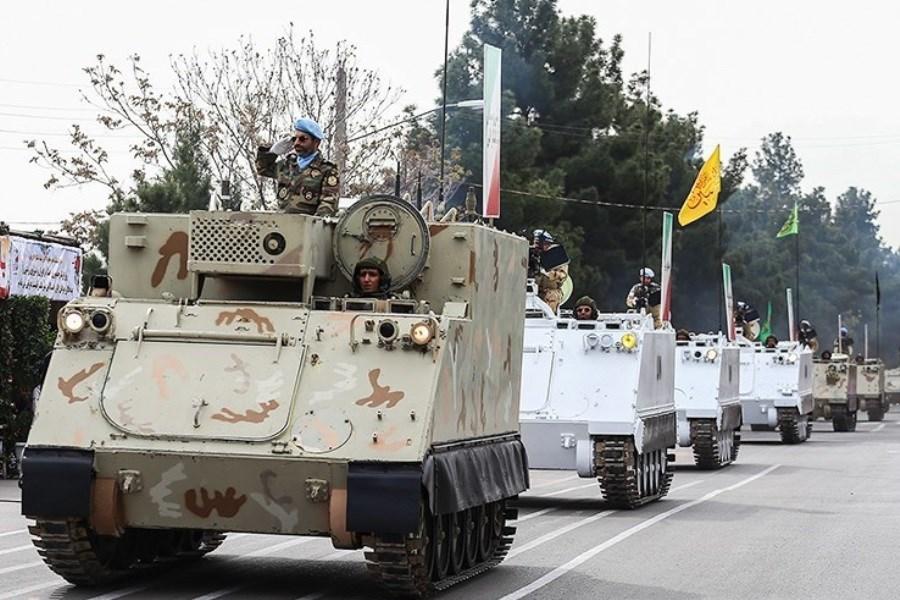 مراسم رژه روز ارتش آغاز شد