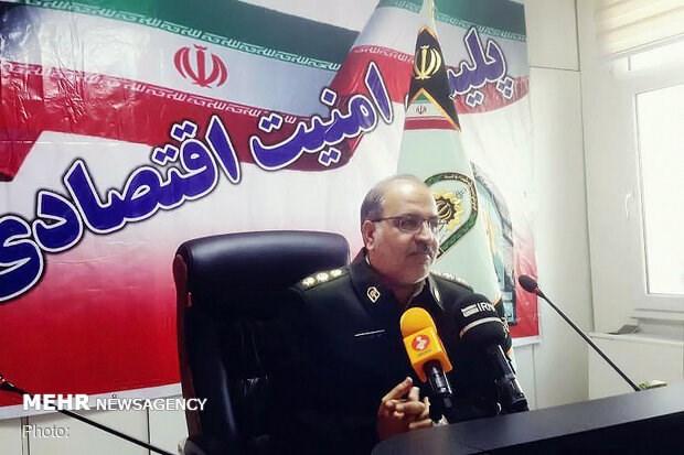 کشف لوازم یدکی قاچاق در تهران