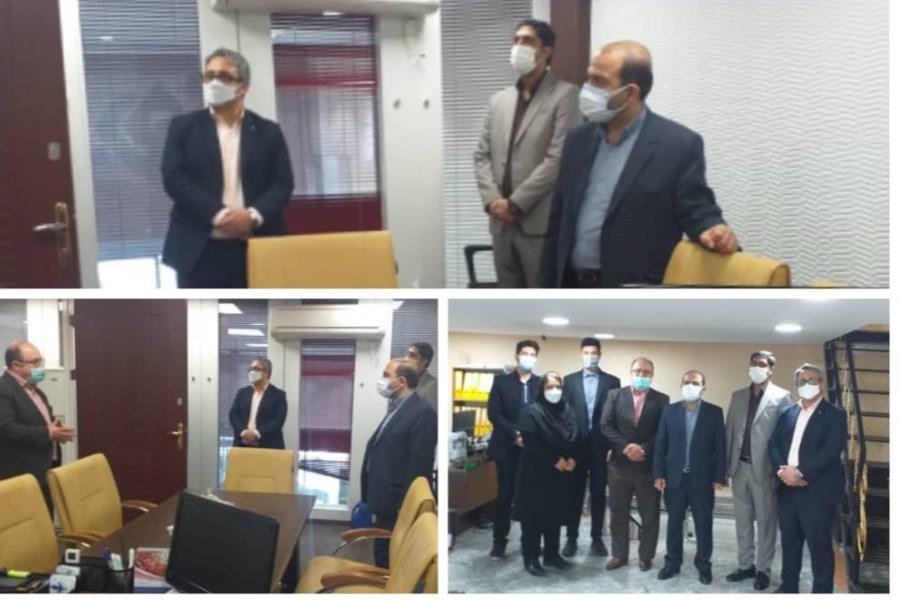 مدیرعامل بیمه میهن از شعبه غرب تهران بازدید کرد