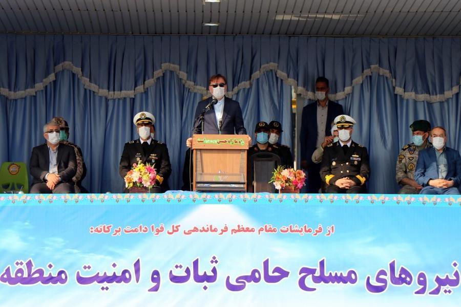 خدمات خالصانه ارتش باعث اقتدار ایران و مایه آرامش ملت است