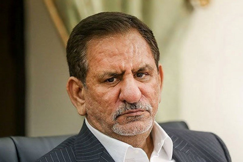 گفتگوی تلفنی جهانگیری با استاندار بوشهر در پی وقوع زلزله در بندر گناوه