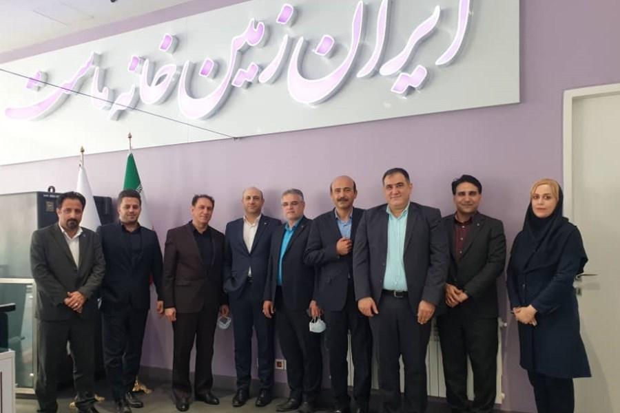 دیدار رئیس اداره بانکداری شرکتی بانک ایران زمین با مدیران امور شعب استان البرز