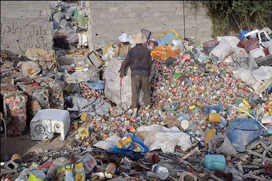 دود ضایعاتفروشان در چشم مردم حسینآباد می رود