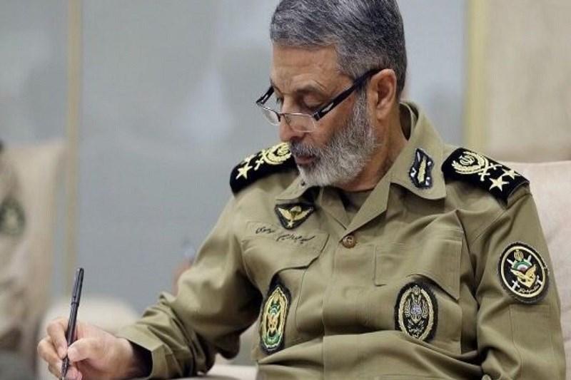 پیام تبریک سرلشکر موسوی به مناسبت قهرمانی نیروهای زمینی و دریایی ارتش در رقابت های بین المللی