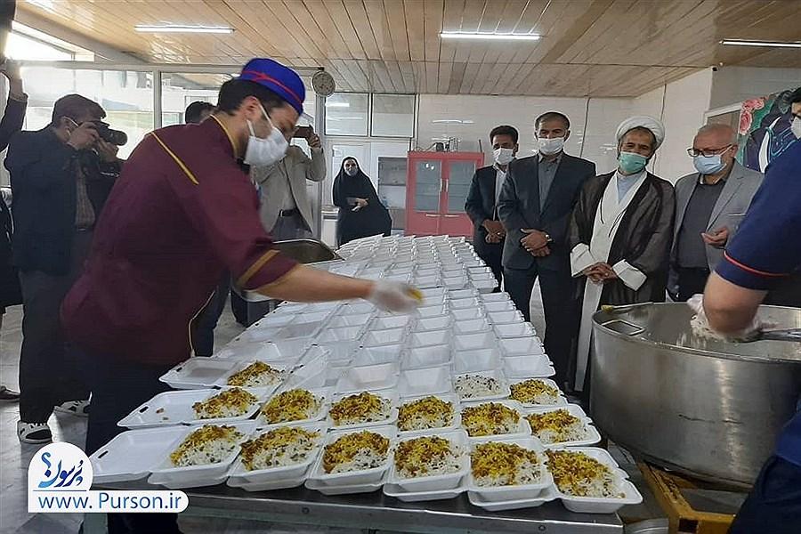توزیع ۱۷ هزارو ۷۸۰ غذای گرم بین نیازمندان