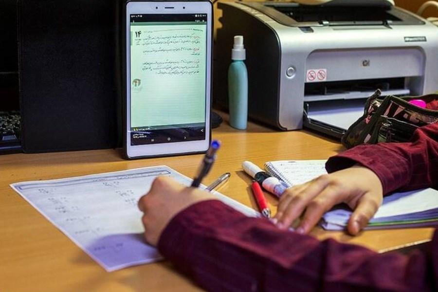 تصویر شمار دانش آموزان بیبهره از آموزش مجازی در خمین به ۶۰۰ نفر کاهش یافت