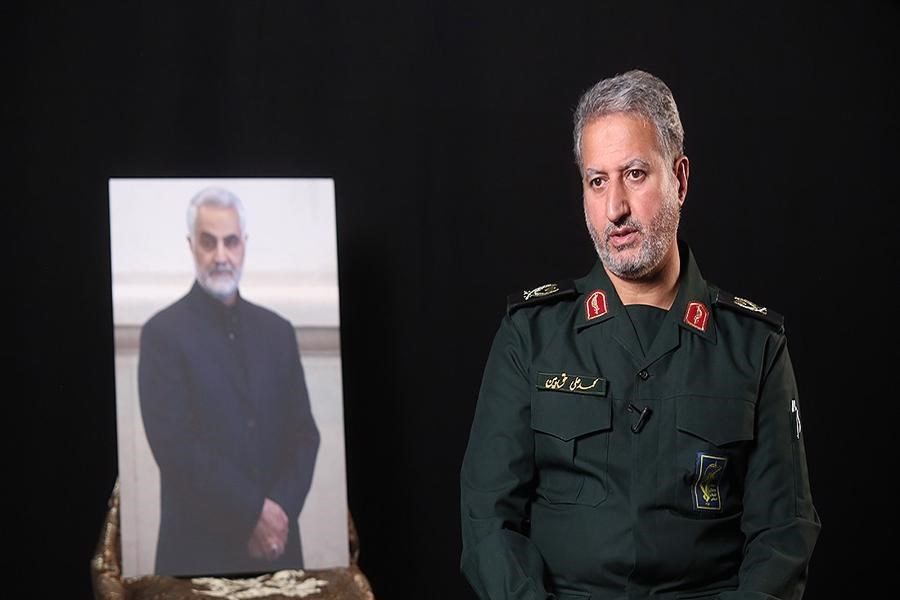 تسلیت رسانه پرسون در پی درگذشت سردار محمدعلی حق بین فرمانده سپاه قدس گیلان