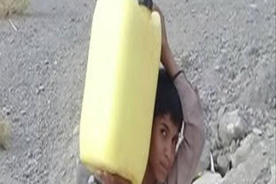 دسترسی به تنها 20 لیتر آب در هفته در کوه حیدر هرمزگان