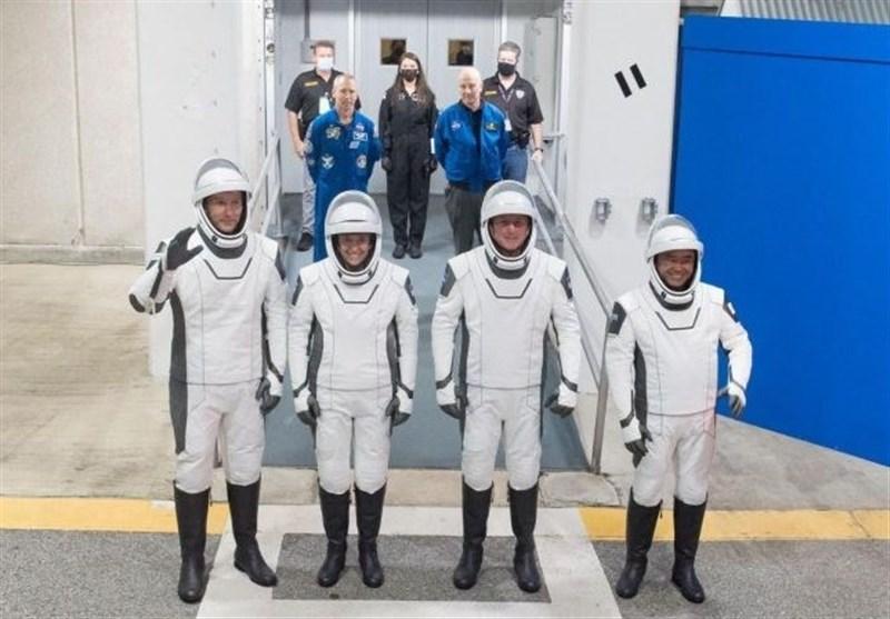 اسپیس ایکس فردا ۵ فضانورد به ایستگاه فضایی میفرستد