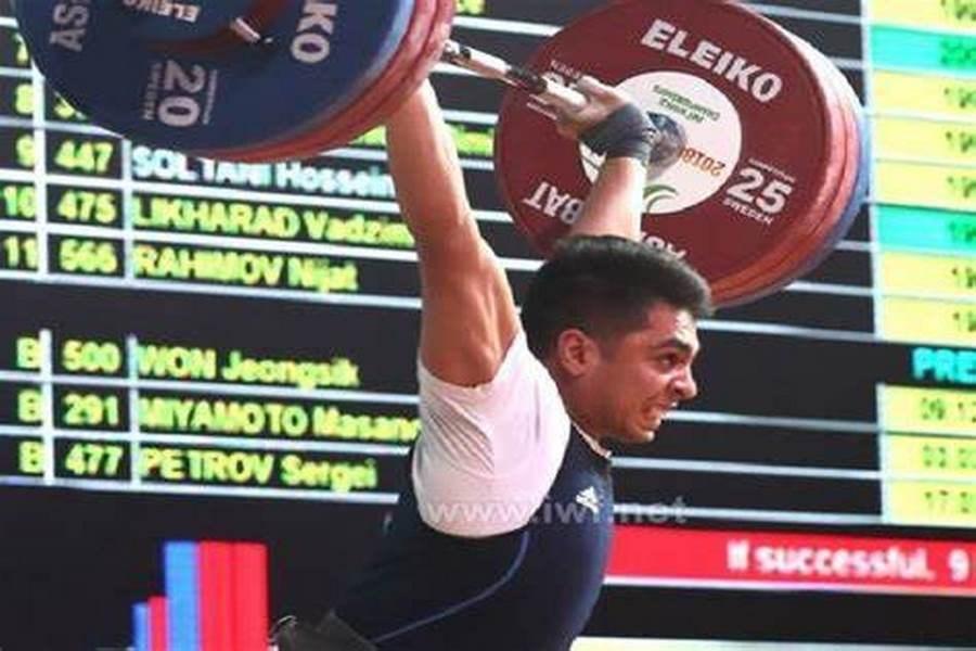 حسین سلطانی وزنهبرداری زنجانی از مسابقات آسیا خط خورد
