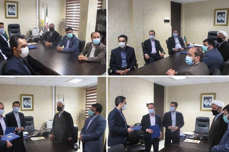 مدیر جدید سرپرستی بیمه کوثر در استان گیلان منصوب شد