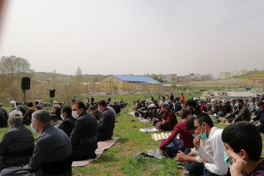 نماز «باران» در سنندج اقامه شد