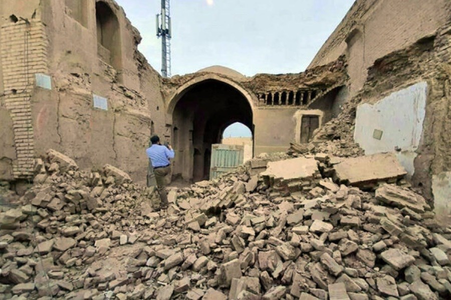 تکذیب تخریب کاروانسرای ثبتی در یزد