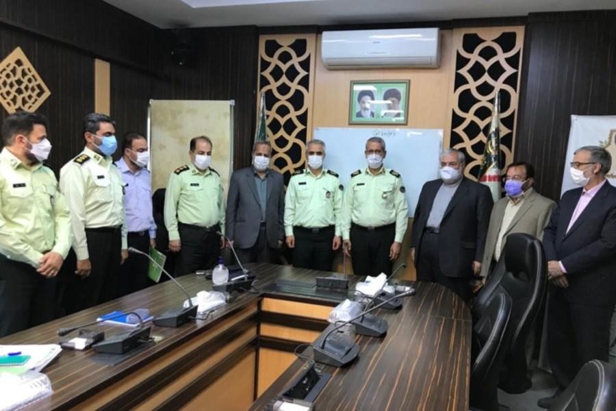 پرداخت تسهیلات به کارکنان پلیس پیشگیری ناجا توسط موسسه ملل