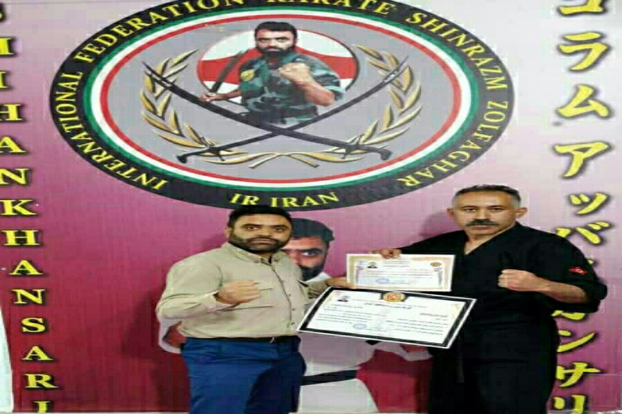 رییس کمیته هنرهای فردی، نمایشی و سلاح سرد سبک کاراته ذوالفقار ایران منصوب شد