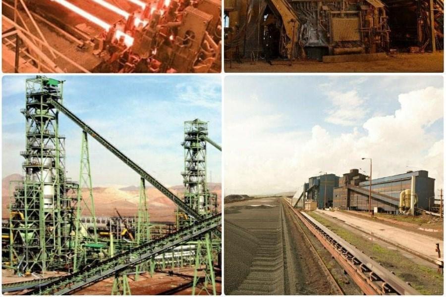 فولاد خراسان در یک ماه، سه رکورد تولید را جا به جا کرد