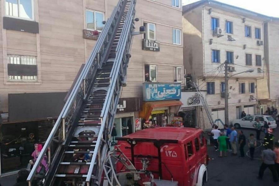 خودروهای آتشنشانی با عمر مفید 5 سال اما قدمت 40 سال