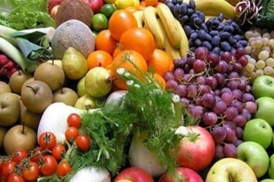قیمت انواع میوه و سبزی پرمصرف در بازار
