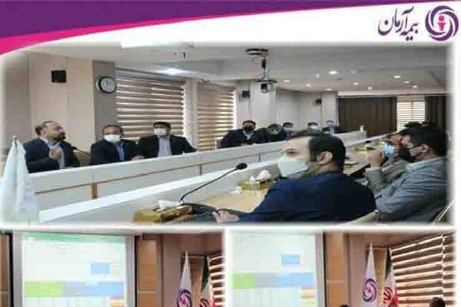برگزاری سومین جلسه بررسی عملکرد شعب و تشریح برنامه های سال جاری