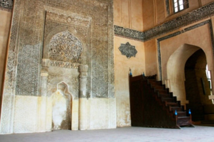 منبر تاریخی مسجد جامع ارومیه مرمت میشود