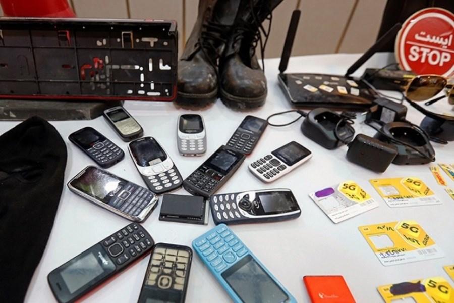 دستگیری باند ۳ نفره موبایل قاپ