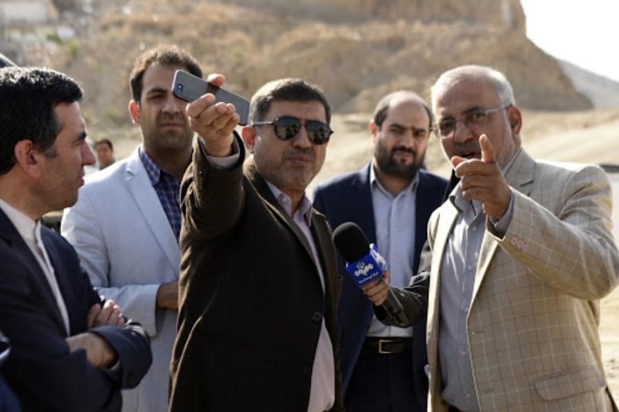 تذکر استاندار البرز به پیمانکار پروژه جاده هشتگرد - طالقان