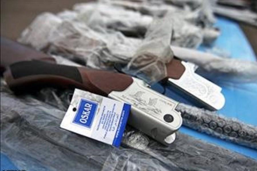 انهدام باند قاچاق سلاح در آمل