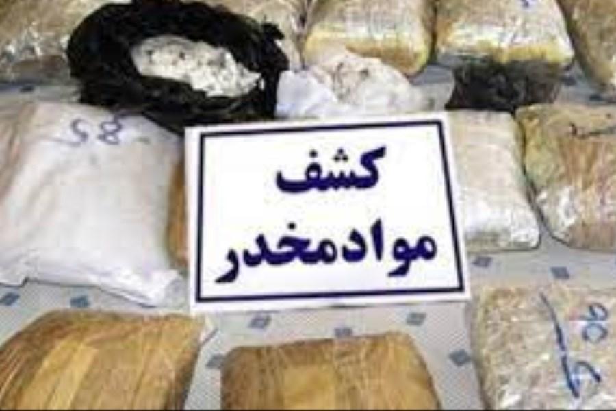 کشف بیش از ۲۰۴کیلوگرم مواد مخدر در نایین اصفهان