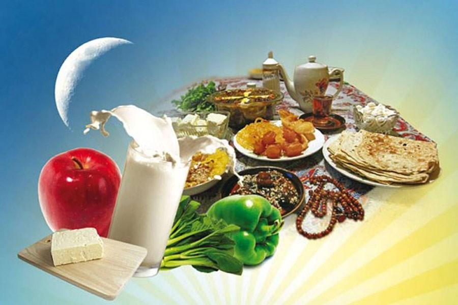 تصویر برنامهریزی برای رژیم غذایی در ماه رمضان