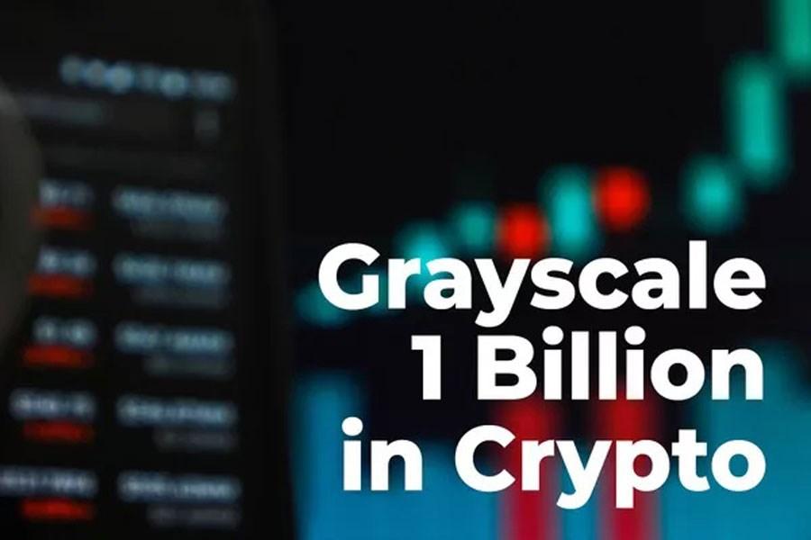 تصویر کمپانی گری اسکیل 1 میلیارد دلار دیگر ارز رمزپایه خرید!