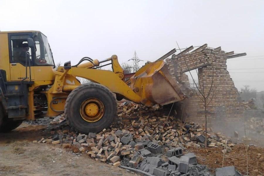 رفع تصرف از ۹۱۲ مترمربع از اراضی ملی در بستان آباد آذربایجان شرقی