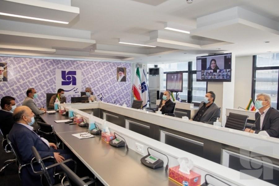 برگزاری جلسه شورای مدیران بیمه سرمد با روسای شعب و مدیران استانی
