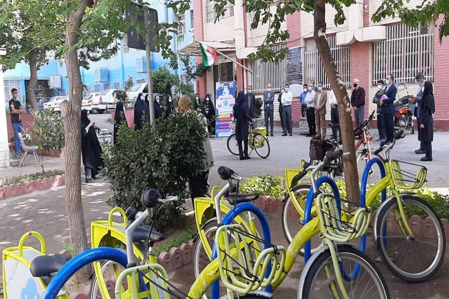 تصویر پیوستن آموزش و پرورش قلب طهران به یک طرح سلامت