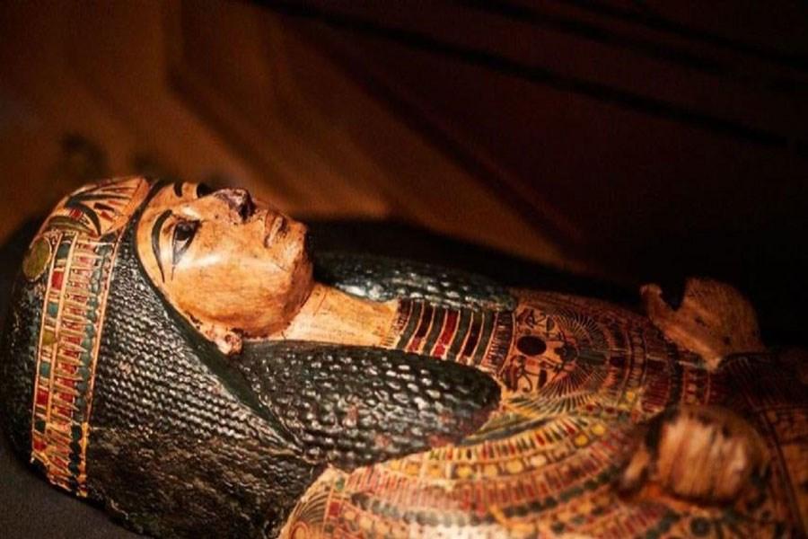 نخستین مومیایی باردار مصری کشف شد + تصاویر