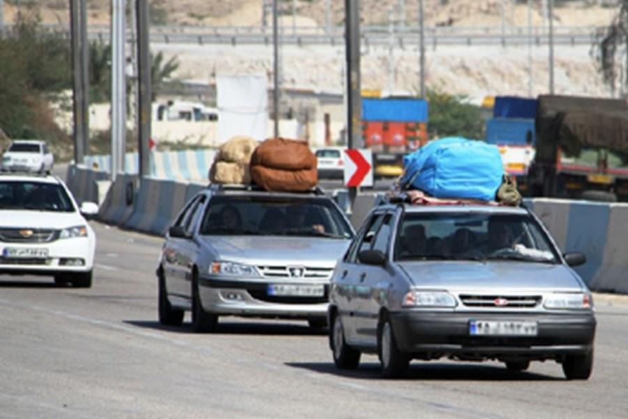 تصویر فروردین امسال جابهجایی مسافر در کرمانشاه  صد در صد افزایش یافت