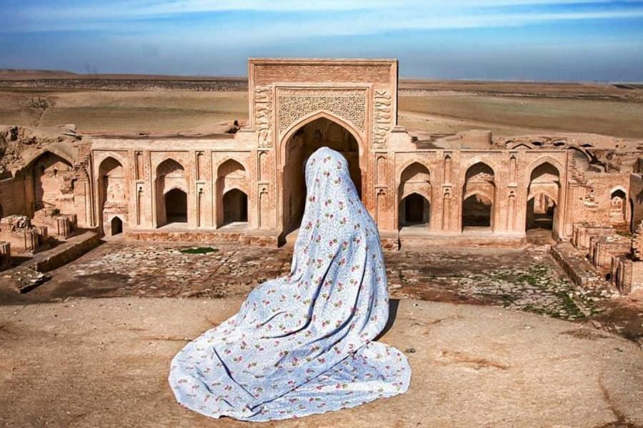قصری که شرف یک بیابان است/ کاروانسرایی با طراحی روانشناسی